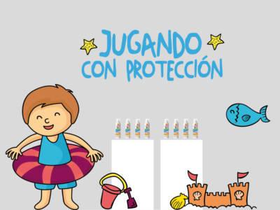 Jugando con protección