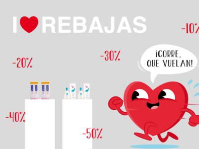 I love rebajas