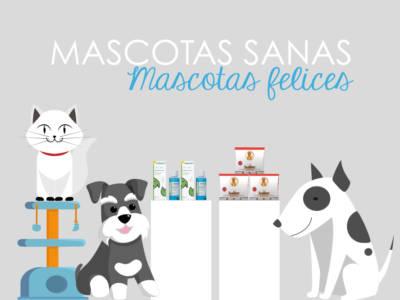 Mascotas sanas y felices