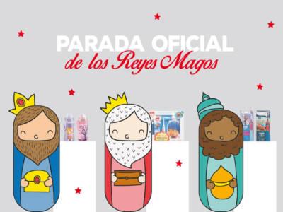 Parada oficial Reyes