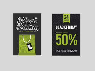 Carteles black friday