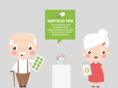 SPD Pareja ancianos