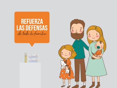 Defensas familia